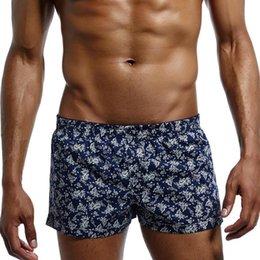 fe523f182791 Men s Underwear Cotton Home Shorts Low Rise Men Shorts Loose Boxers Print  Floral Cueca Boxer Summer Leisure Men Home Clothes