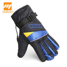 Discount ion blue - Mofaner Motorcycle Riding Electric Heating Gloves Waterproof Motorbike Bicycle Ski Winter Warmer Gloves With Li-ion Batt