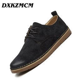 DXKZMCM Men Formal Shoes British Style Men Dress Shoes Black Men Business  Shoes Cow Suede Casual 461ec2d29ca5