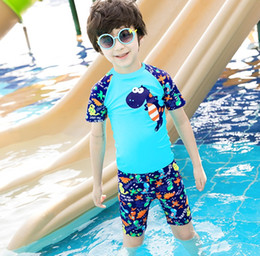 2afe4eda4f Boys Swim Suits Canada - New style two-piece swimming suit kids boy's cute  cartoon