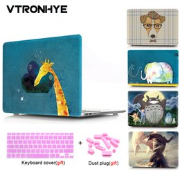 Macbook Retina 13 Inches Australia - VTRONHYE Cartoon Patterns Case Protective For MacBook 12 inch Air 11 13 Pro 13 15 Retina 15 New Pro 13 15'' with Touch Bar