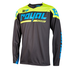 race bmx bikes UK - New Royal racing Victory Race Jersey  Off Road Mountain Bike DH Bicycle moto Jersey DH BMX motocross