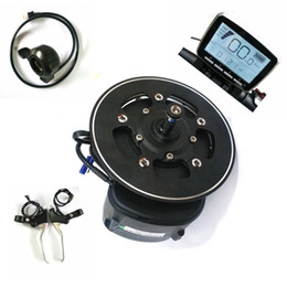 Venta al por mayor de 68/100 / 120mm bb longitud tongsheng tsdz2 kit de DIY Ebike Motor de accionamiento medio, sensor de torque 36V / 48V / 52V Motor de ebike con thumb Throttle Freno Nivel