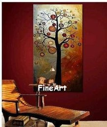 cheap abstract art paintings Australia - cheap modern tree canvas art beautiful abstract art canvas painting bedroom decoration for home unique gift fine art painting