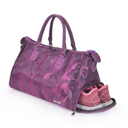 Fitness Shoulder Gym Bag for shoes Waterproof Portable Training bag men  women Travel handbag Yoga sac de sport bags Tas XA510WA 660eb88550f32