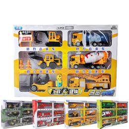 Military Alloy Model Canada - Alloy Car Model Toy, Military Car, Machineshop Truck, Fire Fighting Truck, Express Truck, Kid' Party Birthday' Gifts, Collecting, Decoration
