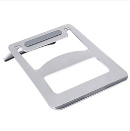 $enCountryForm.capitalKeyWord UK - Besegad Portable Folding Aluminum Notebook Laptop Cooling Pad Stand Holder Support for ASUS Lenovo Samsung Apple MacBook Pro Air