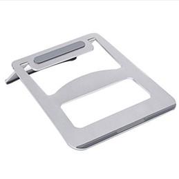 Lenovo hoLder online shopping - Besegad Portable Folding Aluminum Notebook Laptop Cooling Pad Stand Holder Support for ASUS Lenovo Samsung Apple MacBook Pro Air