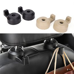 Robe Hooks Gsfy Wholesale Convenient Double Vehicle Hangers Auto Car Seat Headrest Bag Hook Holder New