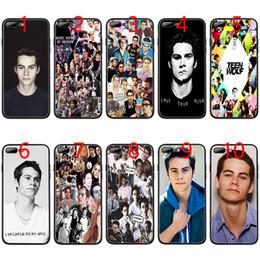 $enCountryForm.capitalKeyWord Australia - Dylan O'Brien Teen Wolf cool Soft Black TPU Phone Case for iPhone XS Max XR 6 6s 7 8 Plus 5 5s SE Cover