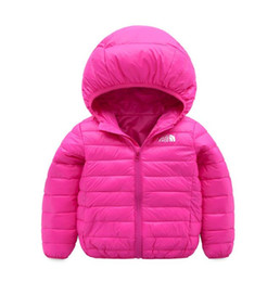 China face north Baby children s coat best selling new boy s cotton dress girl s pure color hat and light cotton padded jacket -002-2 cheap jacket hat baby suppliers