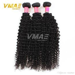 Discount best virgin hair extensions - Romance Hot 7A Brazilian Kinky Curly Hair Weaves 10pcs lot Brazilian Afro Kinky Curly Virgin Hair Best Cheap Human Hair