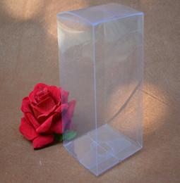 Discount waterproof storage boxes large - 10pcs 16 sizes Large Transparent waterproof Clear PVC boxes Packaging plastic Cases storage event∂y supplies
