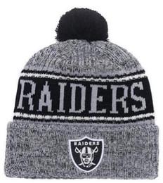 Wool Knit Hats Men UK - 2019 Team Raiders Beanies Caps Pom Sports Hat Men  Women 3df7d7e43