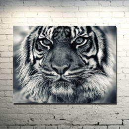 $enCountryForm.capitalKeyWord NZ - 1 Pcs Angry Tiger Shout Wild Animals Art Silk Poster Print 13x18 24x32 inch Nature Picture for Kids Home Decoration 033