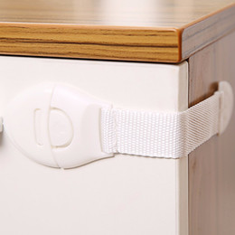 child safety 2018 - 2017 Practical Children Anti Open Drawer Lock Multifunction Baby Anti Pinch Hand Cabinet Lock Baby Safety Protection New