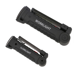 $enCountryForm.capitalKeyWord UK - Portable COB LED Flashlight Torch USB Rechargeable LED Work Light Magnetic COB Lanterna Hanging Tent Lamp For Outdoor Camping