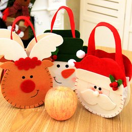 $enCountryForm.capitalKeyWord Canada - Christmas Bag Candy Holders Christmas Decorations For Home Xmas Ornament Santa Claus Gifts Bags Navidad Party Supplies