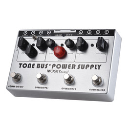 Guitar Effects Pedal Power Supply NZ - Mosky Tone Bus Power Supply Multi Effect Guitar Pedal 8 Outputs 3 Effects Pedal