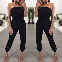 $enCountryForm.capitalKeyWord NZ - Sexy Off Shoulder Long Women Jumpsuits 2017 Summer Autumn Sleeveless Club Party Rompers Casual Jumpsuit Long Overalls Y1891807
