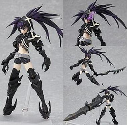 $enCountryForm.capitalKeyWord Canada - 15cm Black Rock Shooter Action Figures Movable joint Collection Figures toys for christmas gift with retail box Free shipping