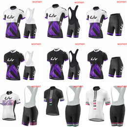 LIV Summer Women s Cycling Jerseys MTB Bike Shirts bib shorts set Racing  Clothing Riding Garment Bicycle Top And Short ropa ciclismo C3011 8e5b2d55a