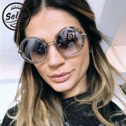 e4773d0507f Sella 2018 New Fashion Women Luxury Brand Designer Sunglasses Retro Round  Trending Tint Lens Sun Glasses Sunnies Eyewear
