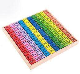 $enCountryForm.capitalKeyWord UK - Kids Children Wooden Toys 99 Multiplication Table Math Toy 10x10 Figure Building Blocks Montessori Teaching aids