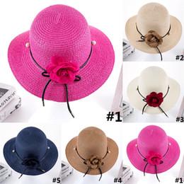 $enCountryForm.capitalKeyWord Canada - Spring Summer And Autumn New Straw Hat Fashion Beach Tourism Leisure Visor Cap Lady Sun Hat Pearl Flower Pot Hat D0462
