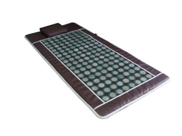 Infrared Fat Massager UK - 2018 Newest!!! Portable far infrared heating mat jade stone infrared thermal mat massage blanket Slimming blanket