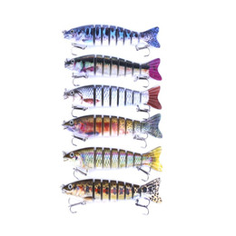 $enCountryForm.capitalKeyWord UK - Brand High Quanlity 8 segments Trolling dive curve Fishing bait 18g 12.7cm Simulation Bleeding Fish Swimming bass Crankbaits Lure