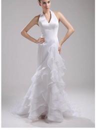 $enCountryForm.capitalKeyWord NZ - Awesome Mermaid Wedding Dresses Beaded Chapel Straps Floor-length Pleats