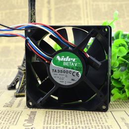 12v Fan Speed Australia - For Japan Nidec 9238 12V 2.3A M35291-35 9cm   cm temperature control speed fan P2780
