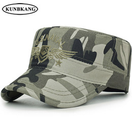 fb8edbbbd6a New Brand Camo Army Snapback Cap Men Tactical US Navy Seal Baseball Cap  Embroidery Wings Bone Sports Camouflage Sun Flat Top Hat