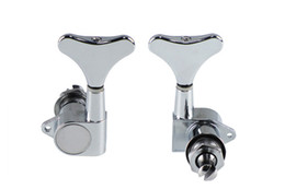 China High Quality Electric Bass Sealed Knob Locking Tuning Pegs Tuner Machine Head for Bass Chrome suppliers