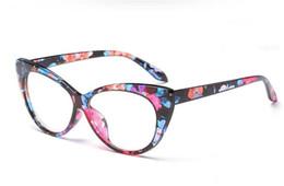 d9b1d4331017 European Fashion Women   Men Glasses Retro Flat Mirror Cat Eye Eyeglasses  Anti-UV Spectacles Couples Glasses Eyewear european eye glass frames for  sale