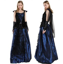 Sexy Party Clothes For Women Australia - 2018 New Arrival Sexy Vampire Costume Women Masquerade Party Cosplay Gothic Vampire Role Play Clothing Fancy Dress For Halloween Party
