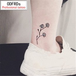 bright eyes 2019 - 2017 NEW 500 Models waterproof temporary tattoo tatoo henna fake flash tattoo stickers tatto tattoos Bright flowers chea