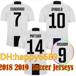 Manchester United Jersey Canada - 2018 19 Home POGBA SOCCER Goalkeeper  Dybala Higuaín Pjanic Soccer Jerseys 2ac8c33a9
