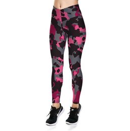 $enCountryForm.capitalKeyWord UK - Women's High-waisted Yoga Pants Soprts Pants Pink camouflage Printed Leggings For Gym Fitness Sports Pants LGS31-032