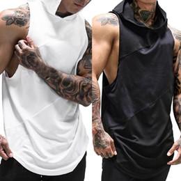 $enCountryForm.capitalKeyWord Australia - Gyms clothing singlet bodybuilding stringer tank top men fitness T shirt muscle guys sleeveless Running vest 0720