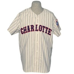 Hornets Jerseys Canada - Charlotte Hornets 1956 Home Jersey White Stripes  Double Stiched Name   Number 04ecd8119