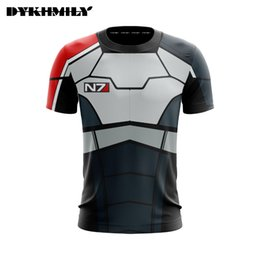 e2eee5583 new t shirt design 3d print 2019 - Dykhmily 2018 New Design Mass Effect  with Short