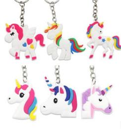 Unicorn Anahtarlık Anahtarlık Cep Telefonu Charms Çanta Kolye Çocuklar Hediye Oyuncaklar Telefon Dekorasyon Aksesuar At Anahtarlık