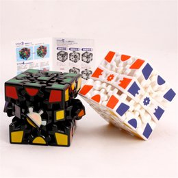 $enCountryForm.capitalKeyWord NZ - Wholesale 3D Cube Puzzle Magic Cube 3 x 3 x 3 Gears Rotate Puzzle Sticker Adults Child's Educational Toy Cube DHL