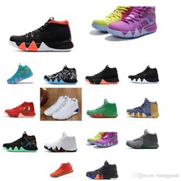 47d3376e59 Cheap Sneakers Usa UK - Cheap womens Kyrie basketball shoes Red Blue Black  Green Wolf Grey
