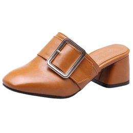 $enCountryForm.capitalKeyWord UK - SJJH 2018 Woman Sandals with Open Chunky Heel and Round Toe Elegant Working Chic Shoes for Fashion Woman with Large Size Available A212