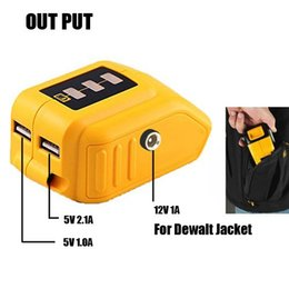 $enCountryForm.capitalKeyWord NZ - Dewalt DCB091 12V 20V Max USB 5V and DC 12V heated jacket Power Source
