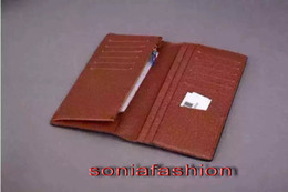 $enCountryForm.capitalKeyWord Canada - Wholesale classic wallet European and America style woman and man unisex with real leather inside for suit wallet free shipping