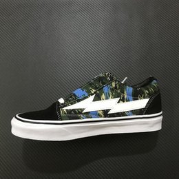 $enCountryForm.capitalKeyWord Canada - Top Revenge X Storm Low Top Blue Green Camo Old Skool Designer Cavnas Sneakers Womens Men Low Cut Skateboard
